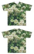 Tシャツ フルグラフィック さらさら白雑草