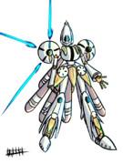 ウニ型ロボット「ガンゲイズ」