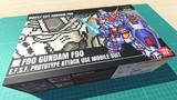 ガンダムF90 / 16色ドット絵ガンプラ箱絵風3D