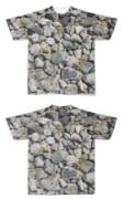 Tシャツ フルグラフィック 石垣に擬態