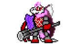 【ドット絵】蛇と邪神とアルフレイム冒険譚のイグ様(戦闘)