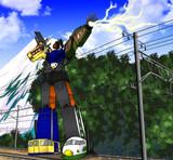 トレインボット重連合体戦士ライデン