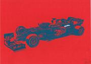 【切り絵】F1 レッドブル RB16