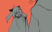 ペットの動揺と飼い主鈍感