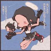 天龍ちゃんと龍田ちゃん