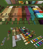 【Minecraft】 Flat and Border Texture 【リソースパック配布】