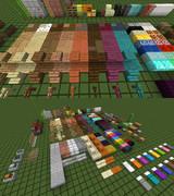 【Minecraft】 Flat and Border Texture 【リソースパック配布】
