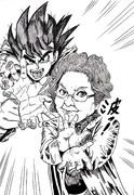 野沢雅子with孫悟空