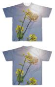 Tシャツ フルグラフィック SUN菜の花