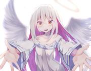 天使な子を描きたかっただけ