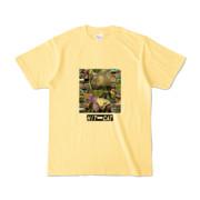 Tシャツ ライトイエロー HIT&CAT