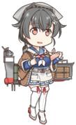 デフォルメ迅鯨(ヤンデレGIFアニメ)