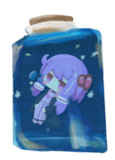 水と星のボトル