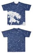 Tシャツ フルグラフィック オーロラ木々