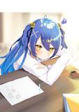試験勉強 あまみゃ