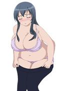 【肥満化】俺の妹のオタク友達がこんなに大きいわけがない
