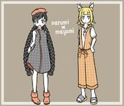 narumi × mayumi