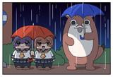 雨の日の暁電