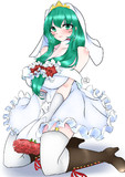 ウエディングドレス雛お姉さん(白)