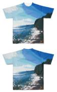 Tシャツ フルグラフィック GUNMA海岸