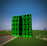 #Minecraft 8連装スレーブカウンター #JointBlock