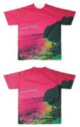 Tシャツ フルグラフィック 海岸で開眼