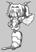 蜂型メカ娘