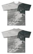 Tシャツ フルグラフィック 江戸時代海岸