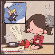 ファミリーコンピュータの本体が発売されて今日で37周年らしいのでFCで遊ぶ龍驤ちゃんと浮輪さん