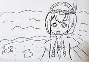 【テーマOK】【リアタイ】5分チャレンジ絵