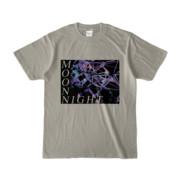 Tシャツ シルバーグレー MoonNight