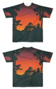 Tシャツ フルグラフィック バオバブ味キャンプ