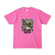 Tシャツ ピンク HIT&CAT