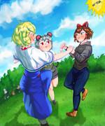 Web姉貴からピクニックに誘われたイースター☆一行
