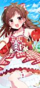 山形りんごを食べるんご~!!
