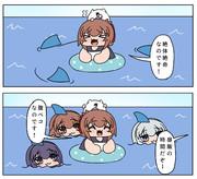 サメごっこ第六駆逐隊