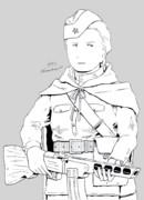 PPSh41 とソ連兵