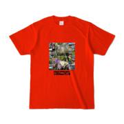 Tシャツ レッド HIT&CAT