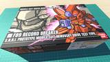 F99 レコードブレイカー / 16色ドット絵ガンプラ箱絵風3D