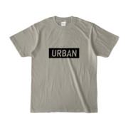 Tシャツ シルバーグレー S_URBAN