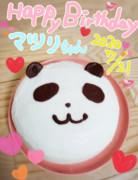 マツリちゃんお誕生日ケーキ