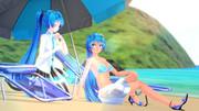 ポニてミクさんの日常 [200722] 再び「夏!出陣!!」