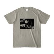 Tシャツ シルバーグレー GHOST_NOSTALGIE