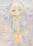 【探偵団#14】シロタエギク(浴衣)