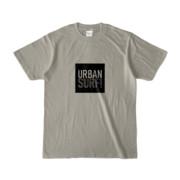 Tシャツ シルバーグレー URBAN_SURF!