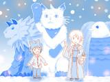 「魔法使いで引きこもり?」ラトリシア雪像まつり