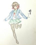 睦月さんとお絵描き練習5