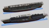 日米最初の航空母艦