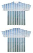 Tシャツ フルグラフィック ストライプumiumi