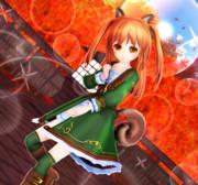 リーアちゃんと 秋の森…♡